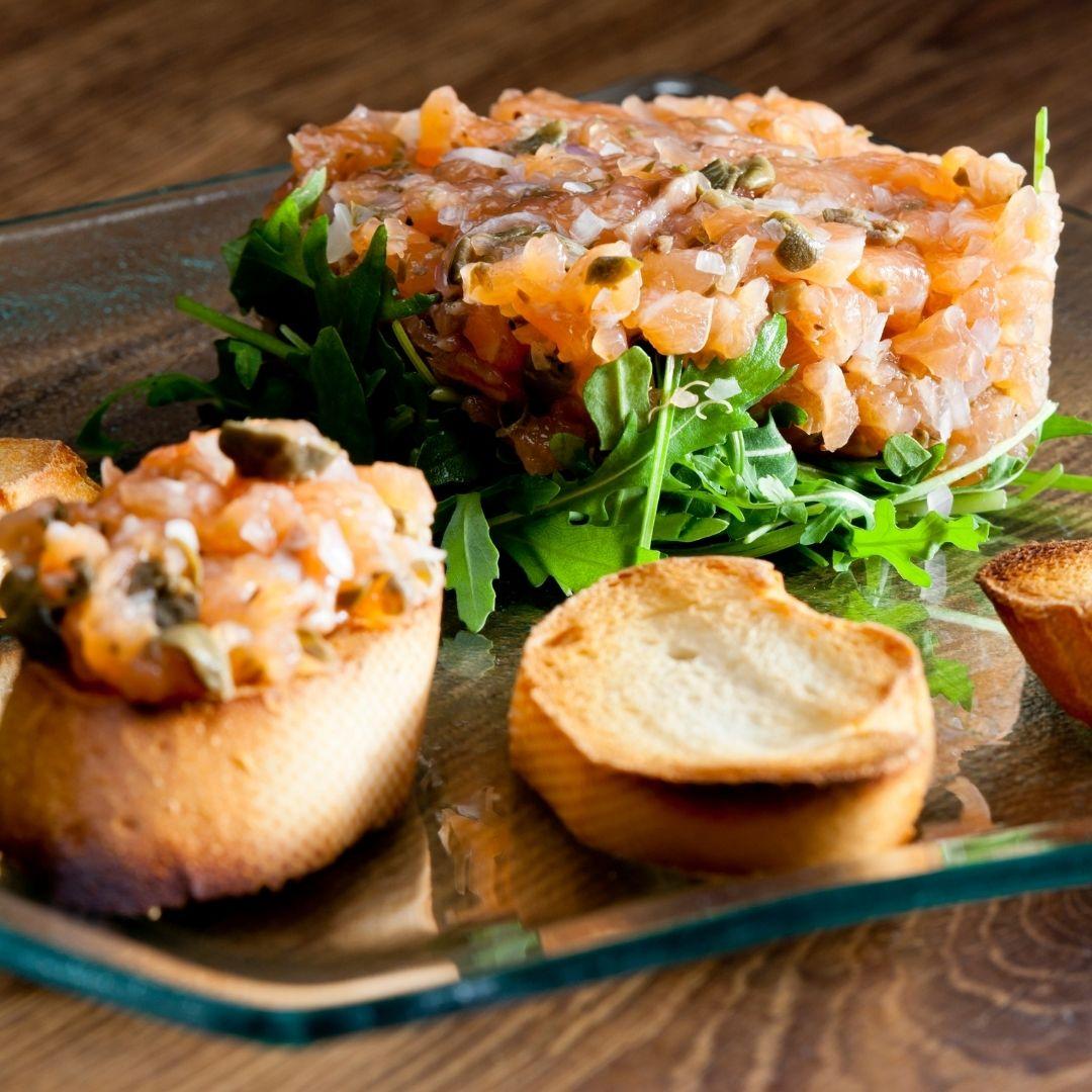 Recette de tartare de saumon - Krystine St-Laurent v2