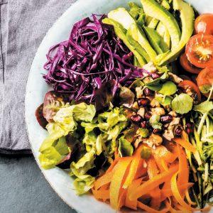 salade arc en ciel santé la vie